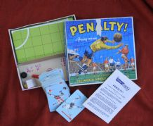 Vintage football cards game .Penalty by Pepys, 4th edition